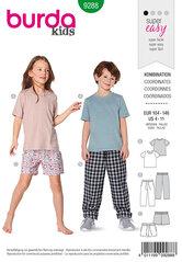 Top, Trouserspants, Shorts. Burda 9288.