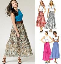 Skirt. Butterick 5757.