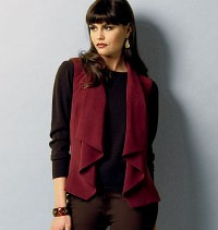 Vest and Jacket. Butterick 5928.