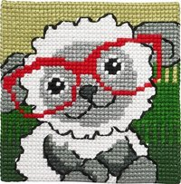 Sheep with glasses. Permin 9122.