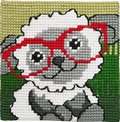 Permin 9122. Sheep with glasses.