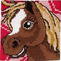 Permin 9281. Horse with white stripe.