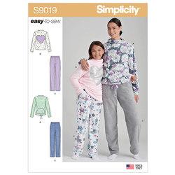 Loungewear. Simplicity 9019.