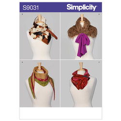 Scarves. Simplicity 9031.