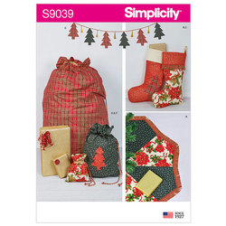 Holiday Decorating Accessories. Simplicity 9039.