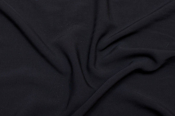 Black, lightweight viscose, woven quality, without stretch