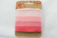 Cuff pink stripes