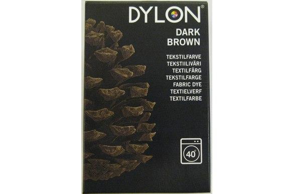Dylon textile washing machine dye, brown