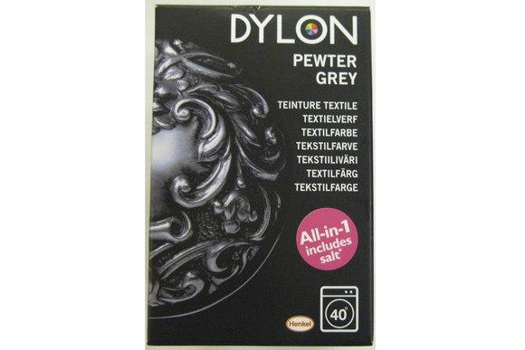 Dylon textile washing machine dye, grey