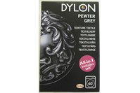 Dylon textile washing machine dye, grey
