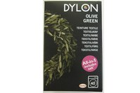 Dylon textile washing machine dye, olive-colored green