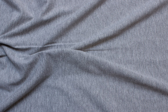Light grey speckled cotton-jersey