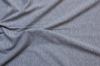 Light grey speckled cotton-jersey