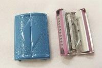 Metal buckle blå 4cm