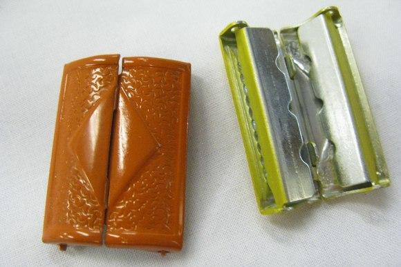 Metal buckle orange 4cm