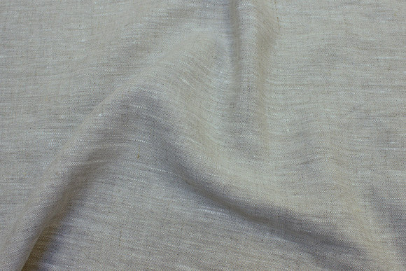 Natural-colored pure linen