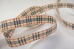 Burberry look-a-like ribbon 2,4cm