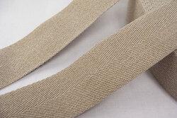 Linen strap 3.5 cm wide