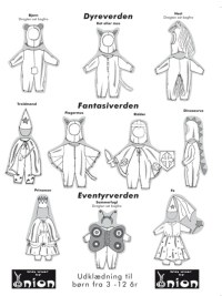 Onion pattern: Costumes for kids from 3-12 years