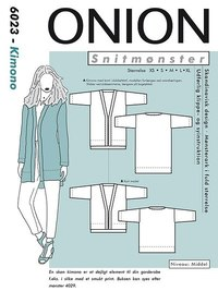 Onion pattern: Kimono