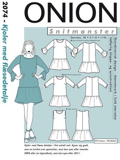 Dress with drape detail