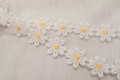 Daisy ribbon, 2 cm flower.