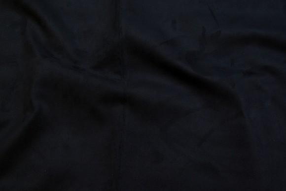 Black furniture fake suede