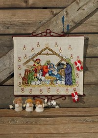Christmas calendar Jesus child