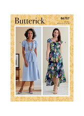 Dress. Butterick 6757.