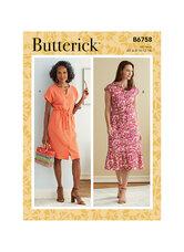 Petite Dress. Butterick 6758.