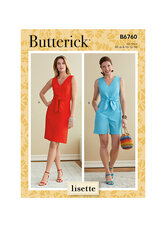Dress and Playsuit. Butterick 6760.