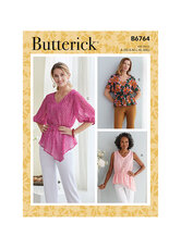 Tops. Butterick 6764.