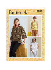 Tops. Butterick 6765.