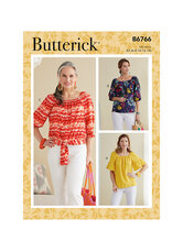 Tops. Butterick 6766.