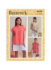 Top. Butterick 6768.