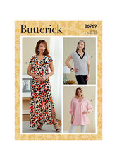 Top, Tunic and Caftan. Butterick 6769.