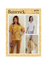 Tops and Sash. Butterick 6770.