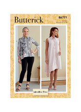 Shirt and Dress. Butterick 6771.