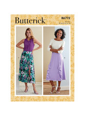 Skirt. Butterick 6772.