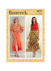 Skirt. Butterick 6773.