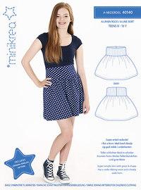 A-skirt . Minikrea 40140.