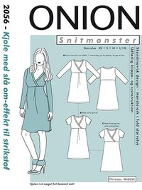 Dress with wrap-effect. Onion 2056.