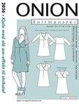 Onion 2056. Dress with wrap-effect.