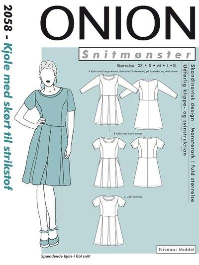 Dress with skirt