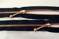 Copper zipper 50cm divisible