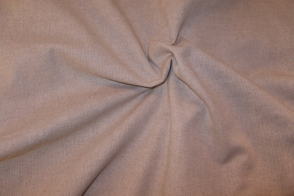 Linen-look in cotton-polyester blend, extra wide