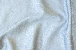Medium-grey jacquard-woven polyester and viscose