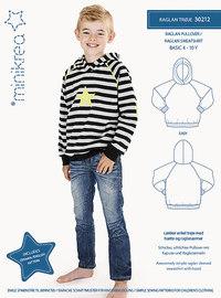 Minikrea 30212 Raglan sweatshirt.  30212.