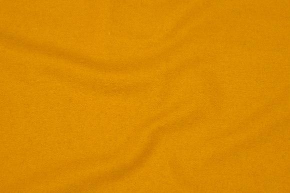 100% medium-thickness wool flannel in brass-yellow