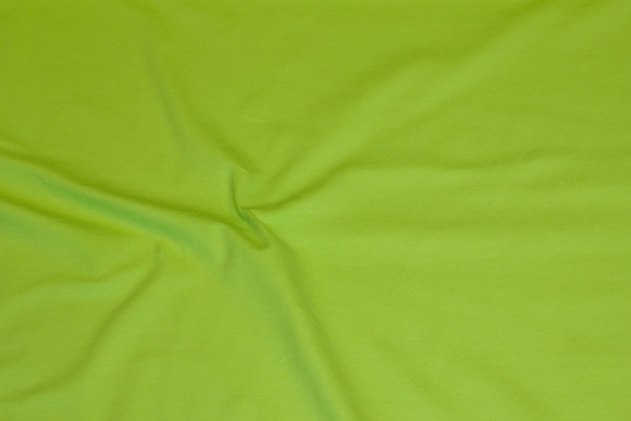 Lime-green cotton-jersey